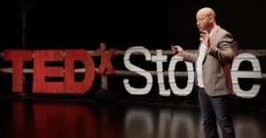 Aaron Wisniewski at TedX Stowe