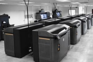 A bank of HP Multijet Fusion Machines
